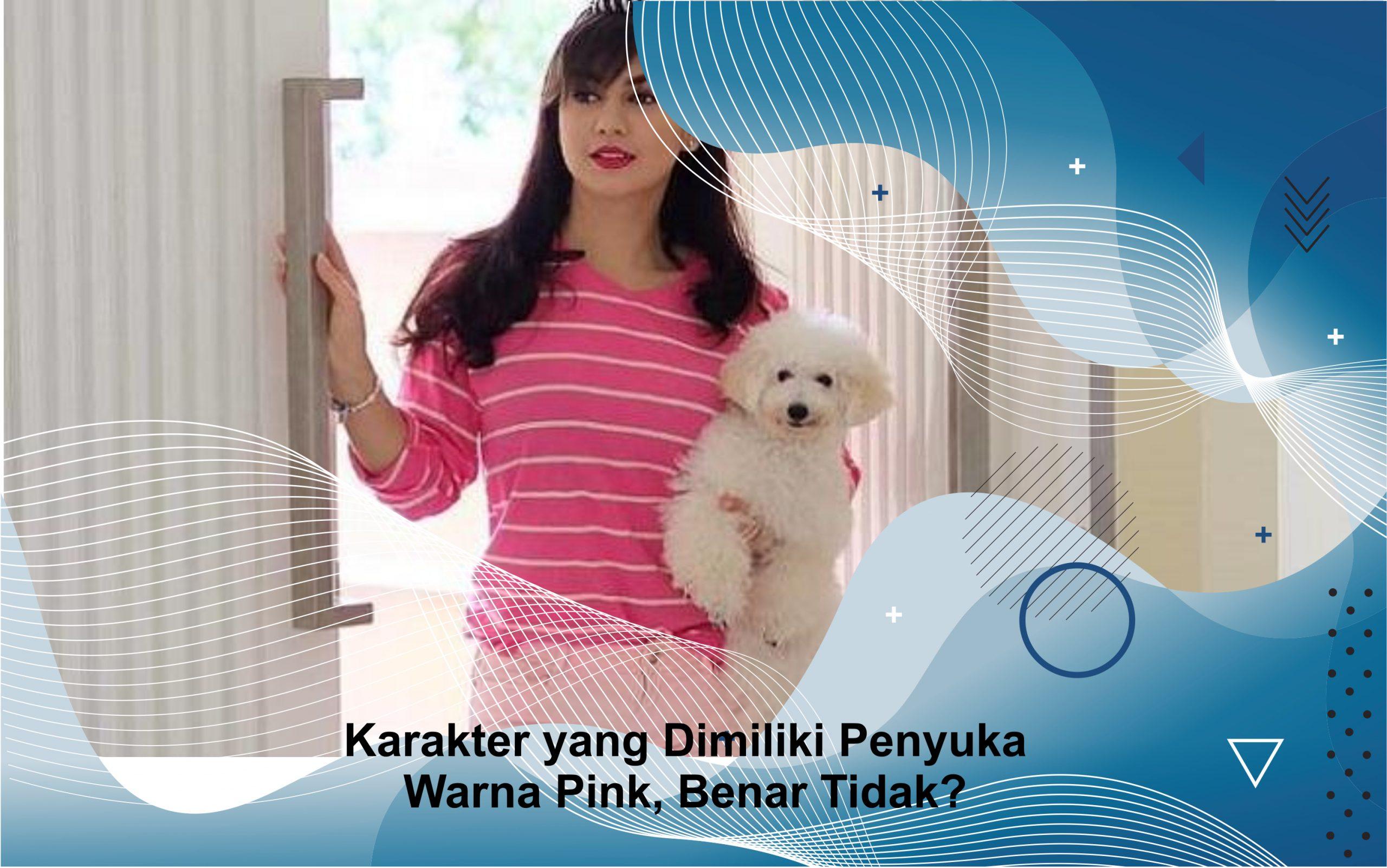 penyuka warna pink
